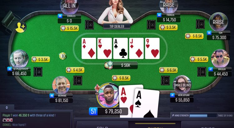 Great Luck Online Poker Gambling Game Place